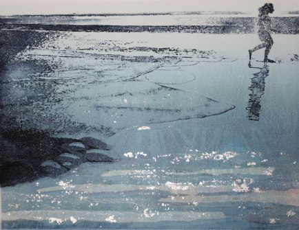 """End of the Day"" Etching"