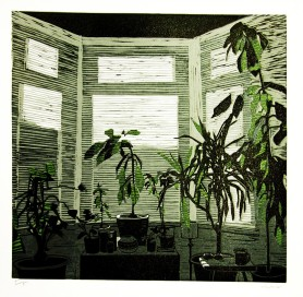 """Window"" Lino-cut"