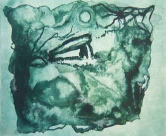 """Coetan Arthur"" solar plate etching"
